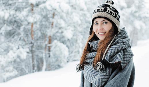 Typy na starostlivosť o pleť v zime